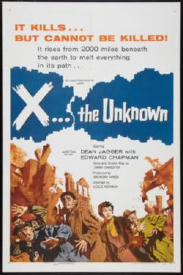 X The Unknown Poster 24inx36in - Fame Collectibles