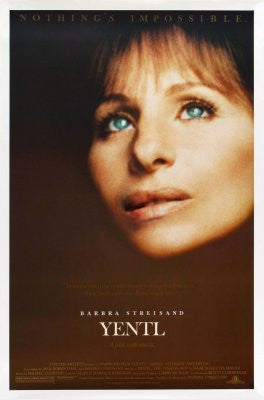 Yentl Movie Poster 24x36 - Fame Collectibles