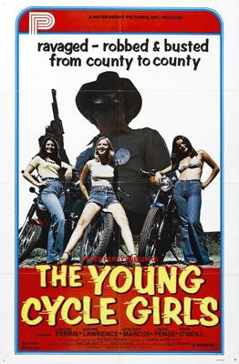 Young Cycle Girls The Movie Poster 24x36 - Fame Collectibles