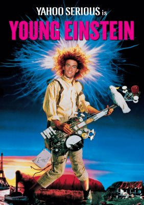 Young Einstein Movie Poster 24x36 - Fame Collectibles