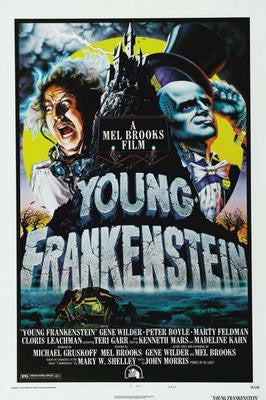 Young Frankenstein Movie Poster 24x36 - Fame Collectibles