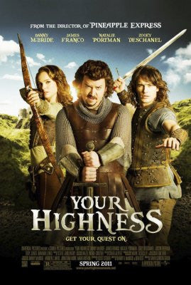 Your Highness Movie Poster 24x36 - Fame Collectibles