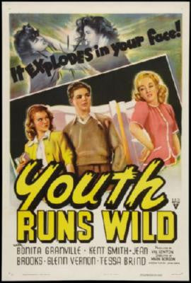 Youth Runs Wild Movie Poster 24in x 36in - Fame Collectibles
