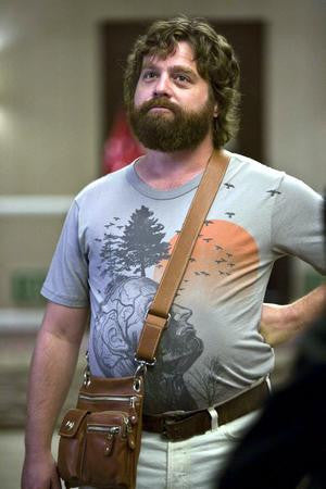 Zack Galifianakis Poster the hangover 24x36 - Fame Collectibles