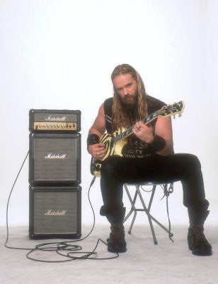Zakk Wylde 8x10 photo - Fame Collectibles
