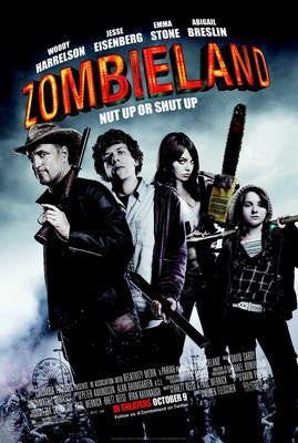 Zombieland Movie Poster 24x36 - Fame Collectibles