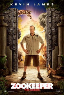 Zookeeper Movie Poster 24x36 - Fame Collectibles