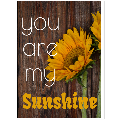 You are my sunshine Puzzle Fun-Size 120 pcs - Fame Collectibles