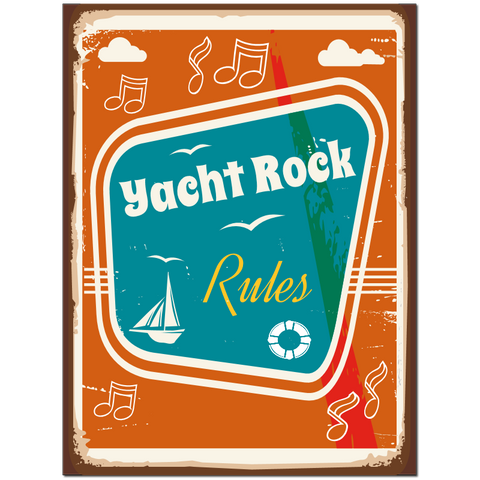 Yacht Rock Rules puzzle
