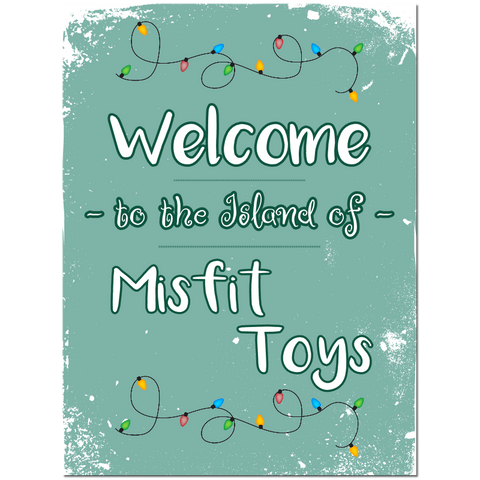 Welcome to the Island of Misfit Toys Puzzle Fun-Size 120 pcs - Fame Collectibles