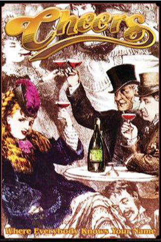 Cheers Poster 24inx36in (61cm x 91cm) - Fame Collectibles