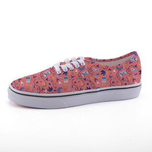 LvL Up - Blush Low Top
