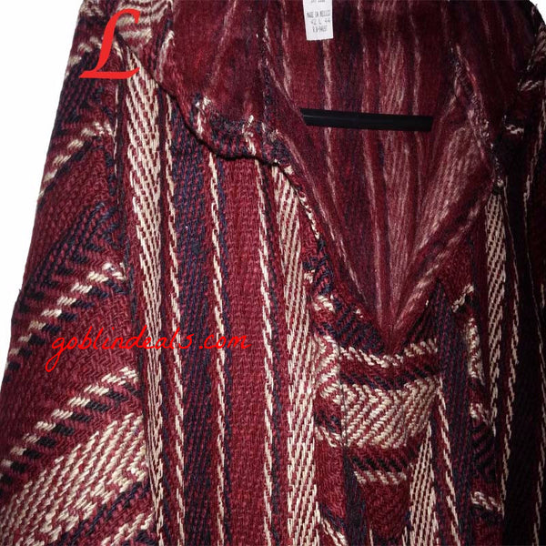 Brown Baja Hoodie Drug Rugs Hoodies Drug Rugs Hippie Clothing