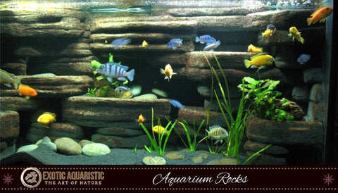 how to prepare rocks for aquarium