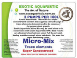 Exoaquaristic Plant Growth MICRO-MIX 500ML - SUPER CONCENTRATED TRACE ELEMENTS MIX