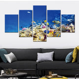 Load image into Gallery viewer, Micro Aquatic Shop Aquatic Wall Art Underwater Luxury Wall Art
