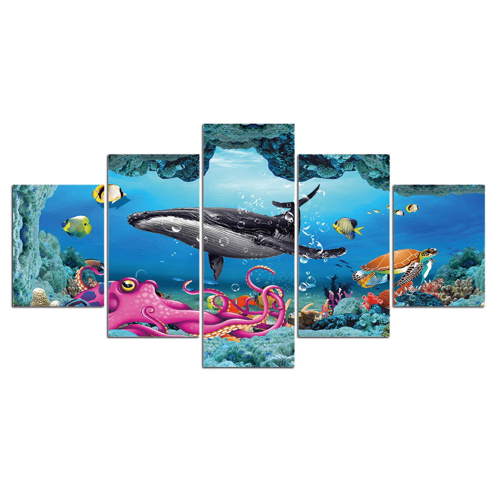 Micro Aquatic Shop Aquatic Wall Art Underwater World Wall Art