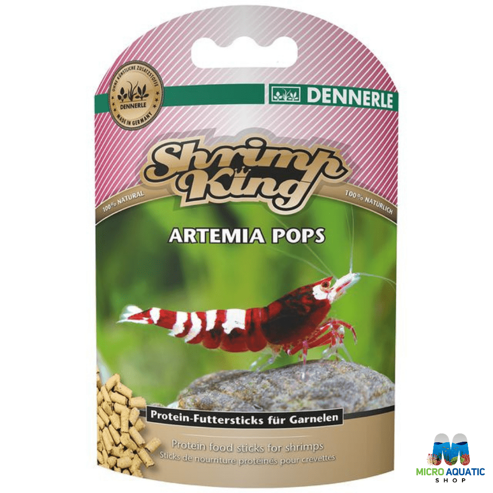 Micro Aquatic Shop Fish Food Shrimp King Artemia Pops 40 g