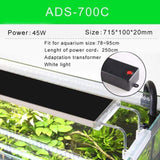 Load image into Gallery viewer, Micro Aquatic Shop Handpicked ADS-700C Ultra Thin Super Bright Aquarium Light