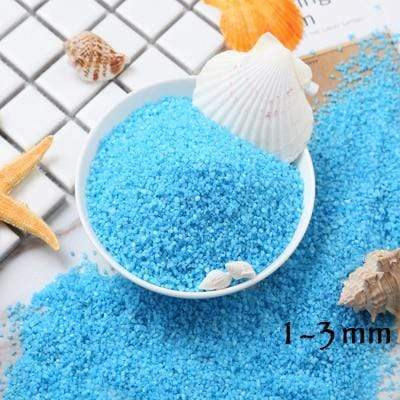 Micro Aquatic Shop Handpicked Blue 2 / 30g Colorful Stone Terrarium Ornament