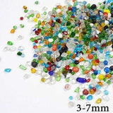 Micro Aquatic Shop Handpicked Colorful 3-7mm / 30g Colorful Stone Terrarium Ornament
