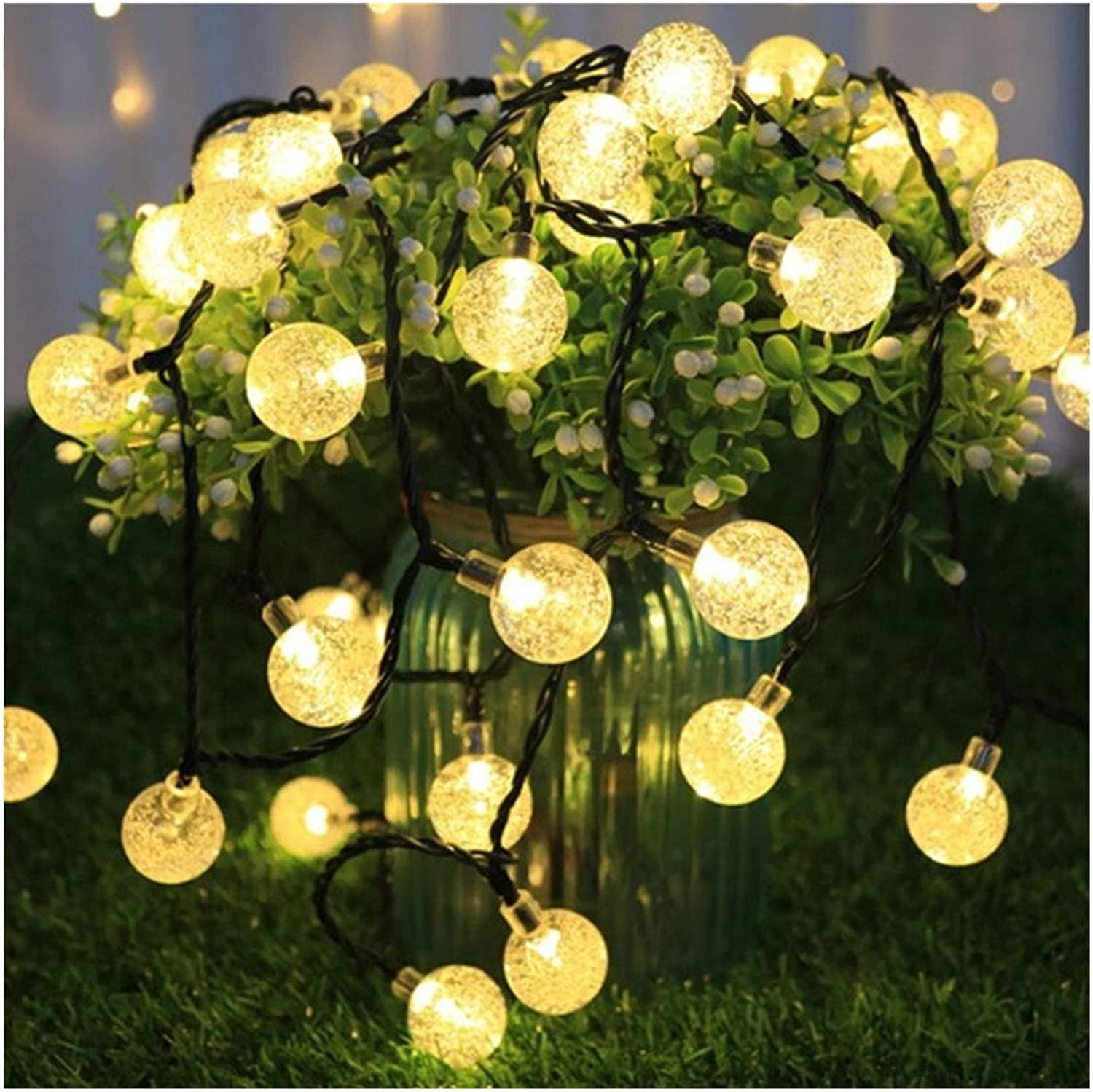Micro Aquatic Shop Handpicked LED Lamp String Fairy Lights Crystal ball