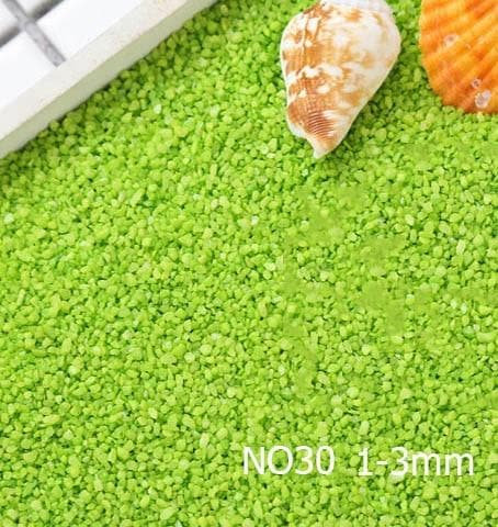 Micro Aquatic Shop Handpicked NO30 1-3mm / 30g Colorful Stone Terrarium Ornament