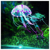 Load image into Gallery viewer, Micro Aquatic Shop Handpicked Purple Artificial Glowing Effect Aquarium Jellyfish