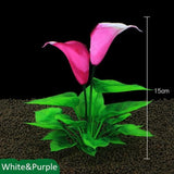 Load image into Gallery viewer, Micro Aquatic Shop Handpicked White Purple 1 Artificial Aquarium Luxury Plants