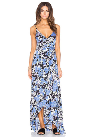 Atlantis Wrap Maxi Dress