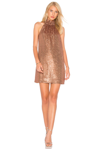 Opal Beaded Mini Dress