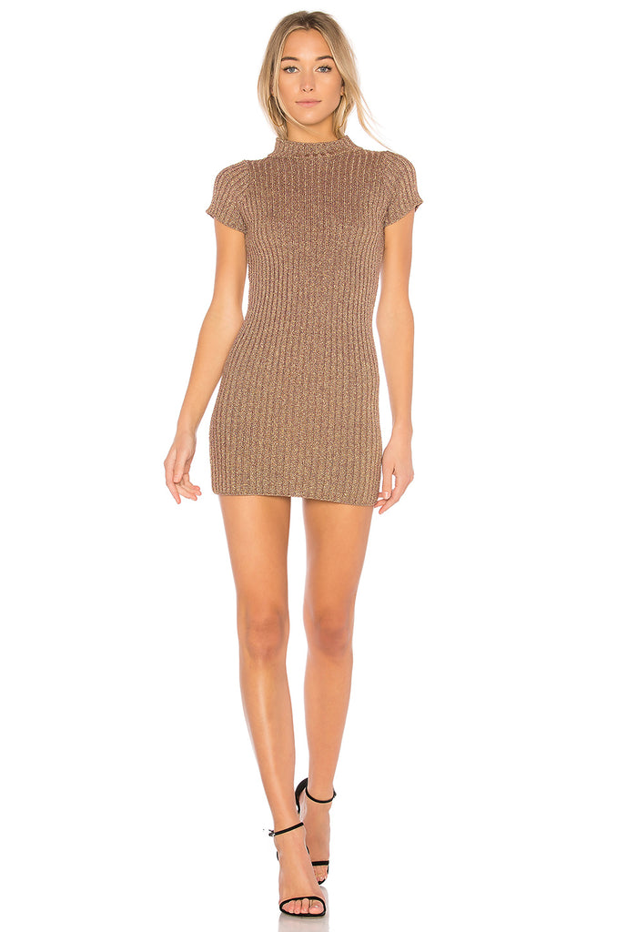 Sparkle Knit Metallic Dress