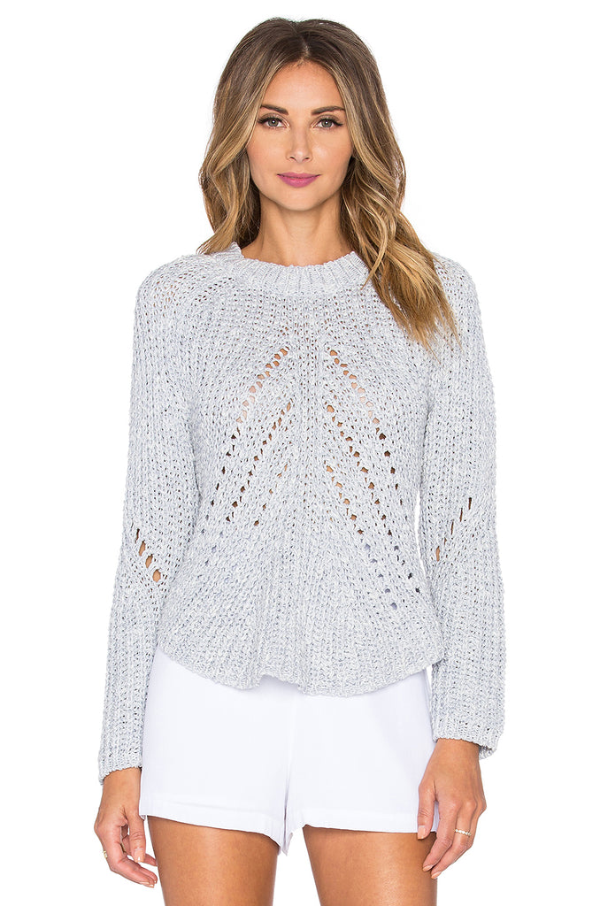 Asymmetrical Knit Sweater Top