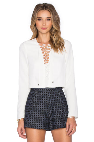 Rhone Lace Up Skirt