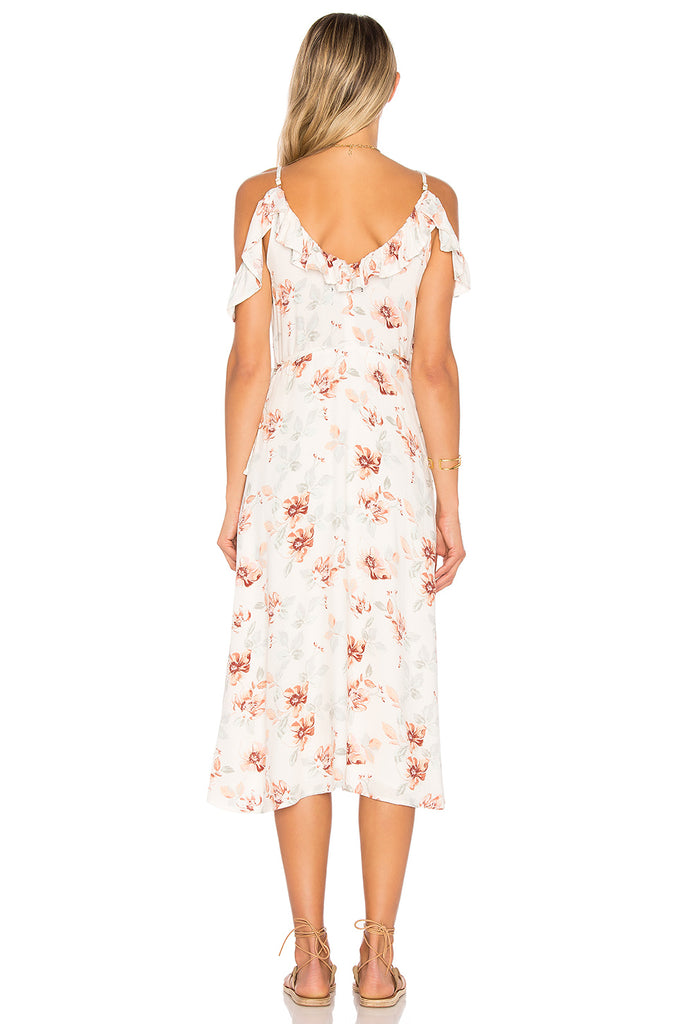 Innocence Wrap Midi Dress