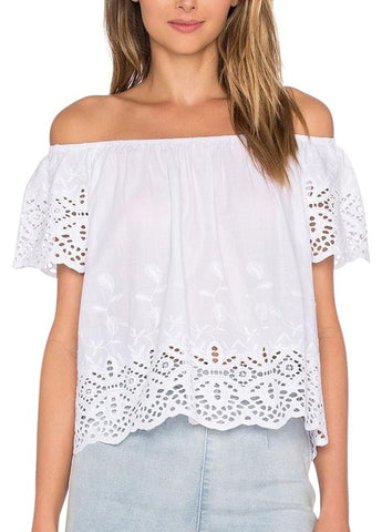 Callie Off Shoulders Top