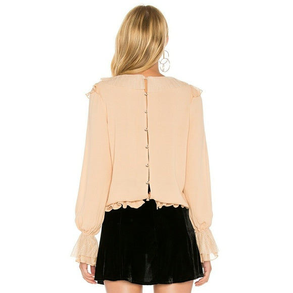 Evie Button Blouse