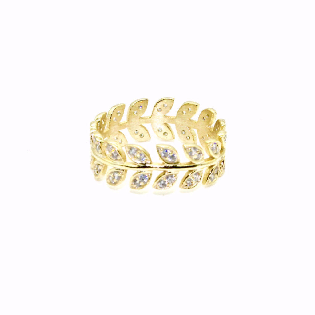 Shashi - Amelia Midi Ring - Surfaced Clothing - 1