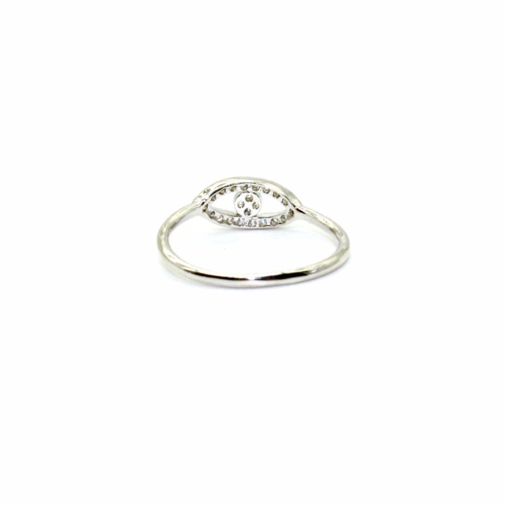 Shashi - Evil Eye Ring - Surfaced Clothing - 2