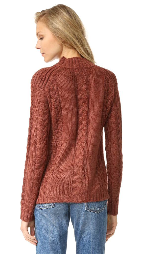 Texan Cable Knit Sweater