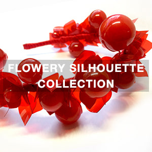 Costume Women's Jewellery: exclusive designs at Flowery Silhouettes Collection
