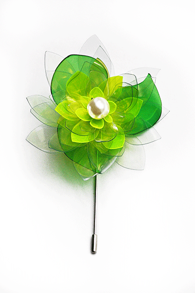 Water Lily Pin Brooch