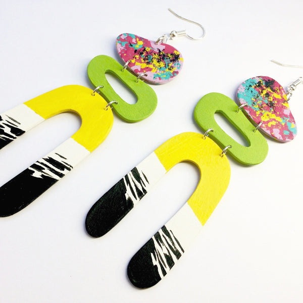 Drop_Oval_Colourful_Earrings