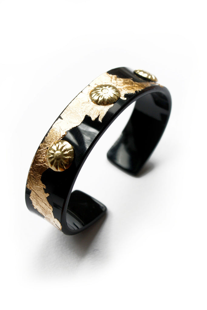 handmade_acrylic-bangle_with-gold_coating