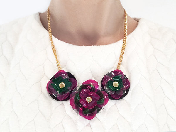 Plastic_Bottle_Flower_Necklace