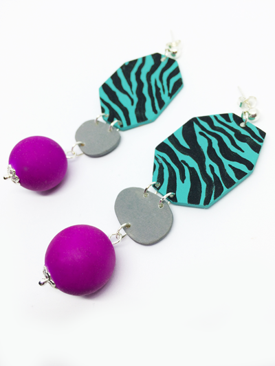 purple_bead_drop_statement_earrings