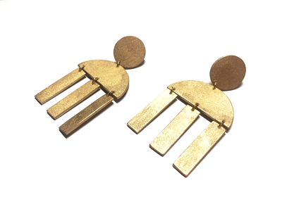 geometrical-dangling-earrings-stud