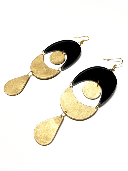 art-deco-gold-coated-earrings