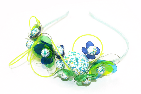 blue-and-neon-one-side-floral-headpiece