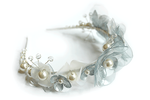 wedding upcycled plastic tiara